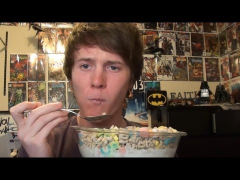 Eating Lucky Charms At 3 AM