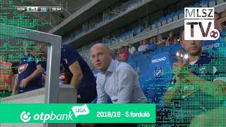 Huszti Szabolcs gólja a Budapest Honvéd - Mol Vidi FC mérkőzésen