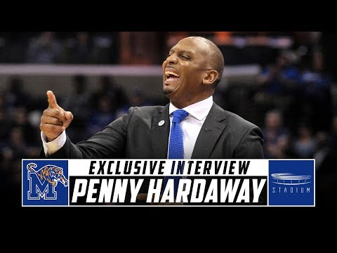 Memphis Head Coach Penny Hardaway Discusses Expectations For His Team And Coaching Career | Stadium