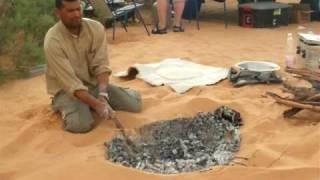 Baking Bread In Sahara