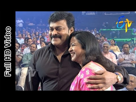 Megastar Chiranjeevi And Radhika In ETV @ 20 Years Celebrations - 23rd August 2015