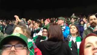 "Timbers Army ""North End Noise"" 4/5/2014"