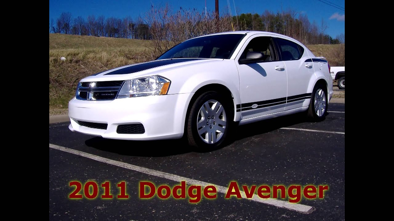 P7257 White Dodge Avenger Hurricane Chevrolet Youtube