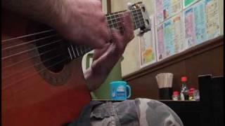 4800円で買ったガットギターで弾いてみました。