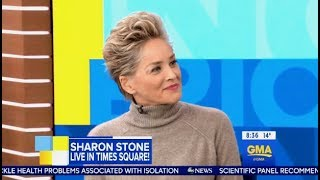 Sharon Stone Chats HBO's
