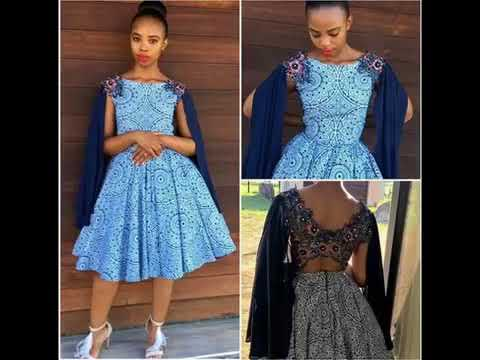 f523c80ac0 Latest Shweshwe Dresses 2018 - YouTube