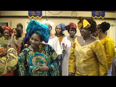 Madam Keita Danse au Baptem de Anna Lopis - Le Video Clip Publie Par M. Savane