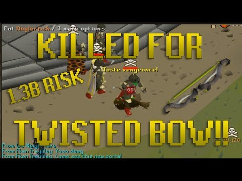 Runescape Highlights - Pked For Twisted Bow, Instantly Stacked Out & Smited, Sub 12 Min Raids! OSRS