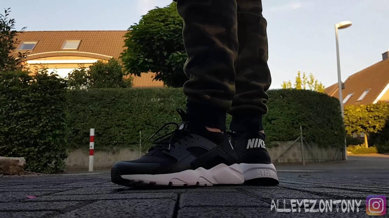 c5aae7fc36c6 NIKE AIR HUARACHE RUN ULTRA - On Feet - YouTube