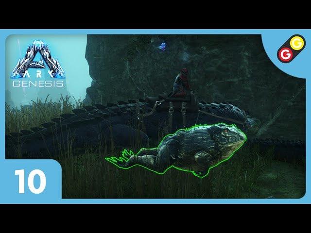 ARK : Survival Evolved - Genesis #10 On escorte une grenouille ! [FR]