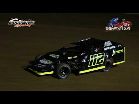 #112 Dustin Diden - Open Wheel - 9-29-17 Crossville Speedway - In Car Camera