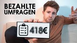 1 Woche online-Umfragen & _€ von ZUHAUSE verdient | Selbstexperiment