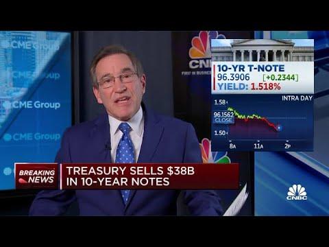 Treasury sells $38 billion in 10-year notes