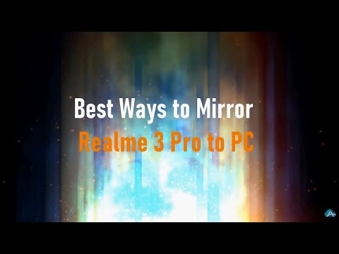 How to Mirror Realme 3 Pro to PC