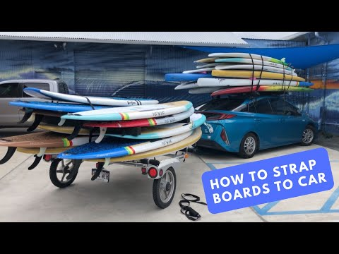 How To Strap Boards To Car Roof Rack- Safe, Efficient, Complete Instructions