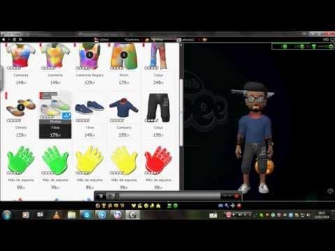 como compra roupas de cp + como ganha cp