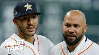 MLB doesn't know how to punish players for cheating scandal - Jessica Mendoza | First Take