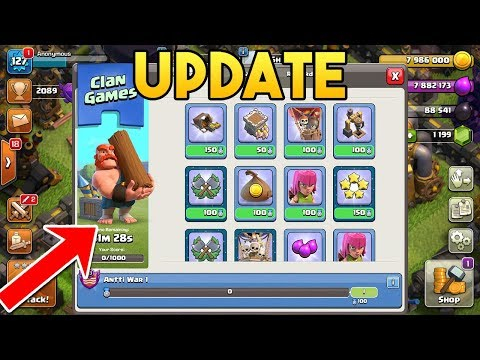 Clan Games/Quests Explained (With Gameplay) What Do Magical Items Do? | Clash Of Clans Winter Update