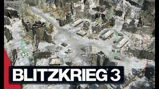 Battle of the Bulge - Blitzkrieg 3 Gameplay (German Campaign)