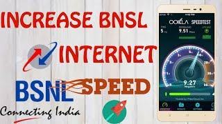How to make BSNL Data SPEED FASTER |Best APN Setting for BSNL| NEW 2017 |