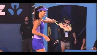 Video Ana Ivanovic, Roger Federer, Azarenka, Bouchard Dance Off - AO Kids Day download MP3, 3GP, MP4, WEBM, AVI, FLV Agustus 2018