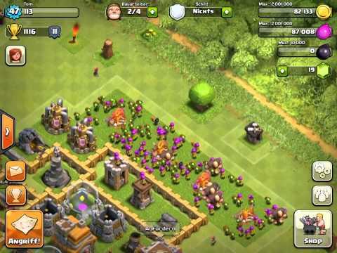 Clash Of Clans Tutorial 3 | Many Gems Tut