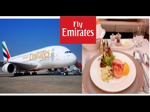 Emirates A380 Business class Experience From Dubai Int Airport to Melbourne