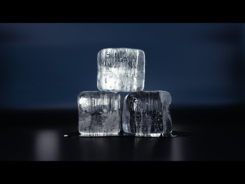 how to make ice cubes in blender