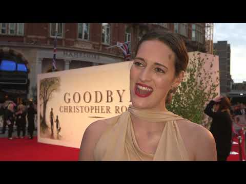 Goodbye Christopher Robin UK Premiere - Itw Phoebe Waller Bridge (official video)