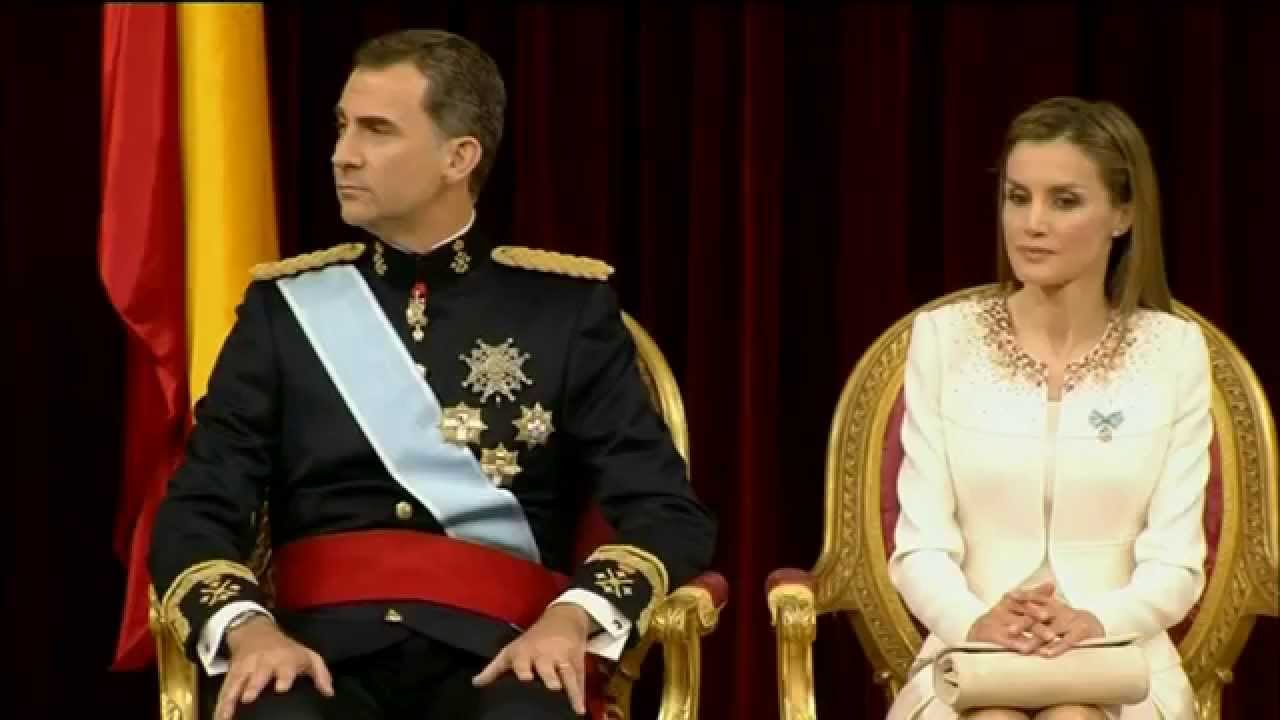 Proclamation of king felipe 6 of spain youtube for Watches of spain