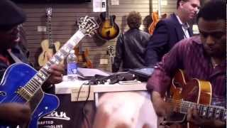 Affirmation - Norman Brown @ NAMM 2013 (Smooth Jazz Family)
