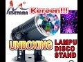 Unboxing Lampu Disco Stand Mini Sensor Suara_MITSUYAMA