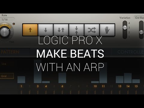 Logic Pro X - Making Beats With An Arp