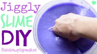 Video DIY SUPER JIGGLY SLIME TUTORIAL! HOW TO Make Slime with ONLY 3 INGREDIENTS!!! download MP3, 3GP, MP4, WEBM, AVI, FLV November 2017