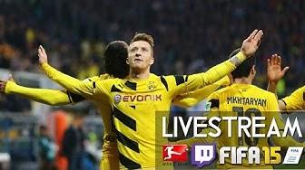 HAMBURGER SV 0 : 0 BORUSSIA DORTMUND - 24. Spieltag | Prognosen [FIFA 15 LIVESTREAM]