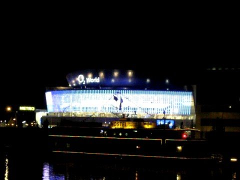 Berlin O2 World Led Facade Youtube