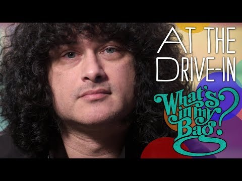 At The Drive-In (Cedric Bixler-Zavala) - What's in My Bag?