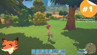 My Time At Portia #1 [FR] Un jeu qui me fait rêver! On gère son atelier, on construit... et drague!