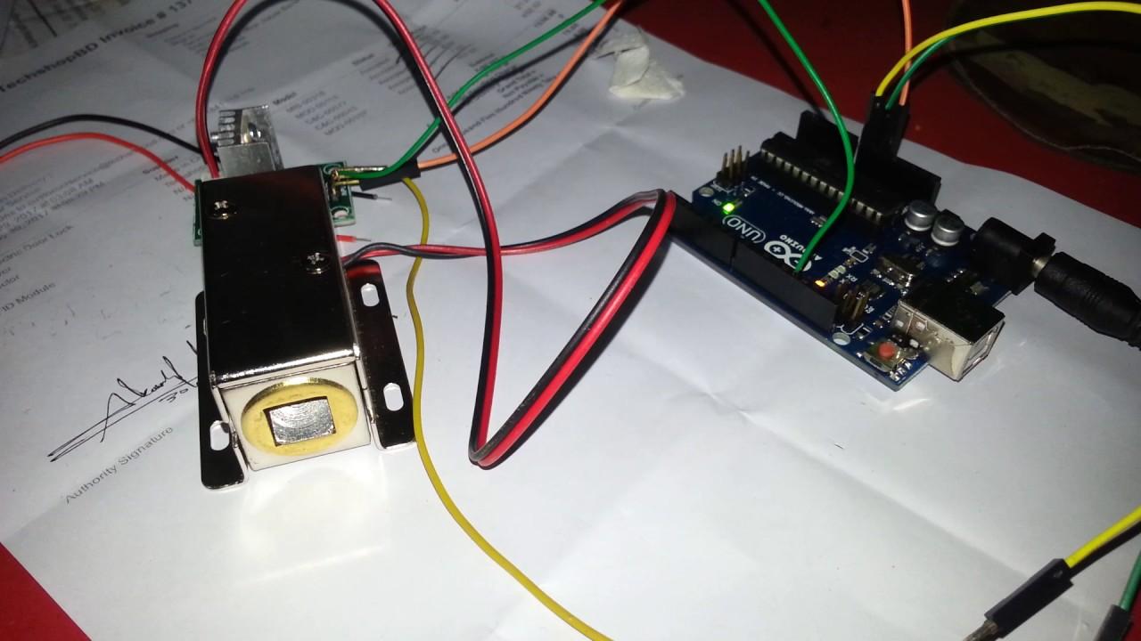 dc 12v solenoid electric door lock