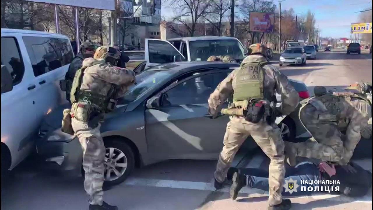 Волинські оперативники затримали банду крадіїв у Кропивницькому