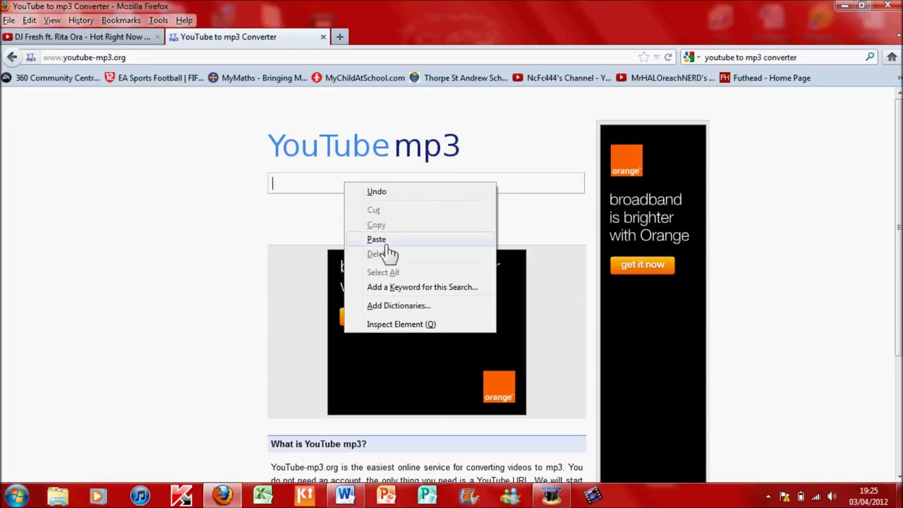 How To Download Songs From Youtube To Your Laptop Computer Youtube