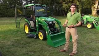 JOHN DEERE FRANCE : Nouveauté « 2017 » - tracteur compact 2036R de 36 ch présenté à Salonvert 2016