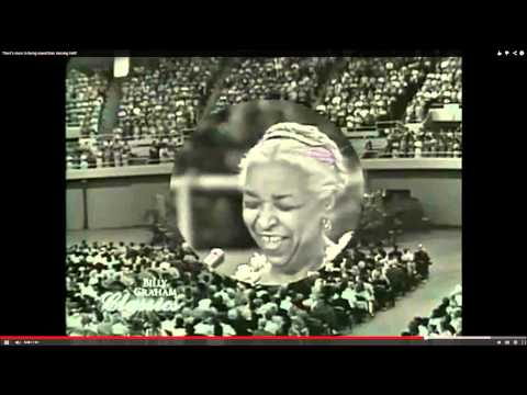 """Ethel Waters sings """"His Eye is on the Sparrow"""""""