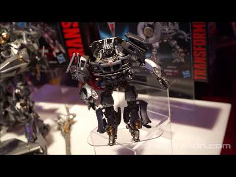 Transformers Movie Masterpiece shown at Toy Fair 2019 MPM8 Megatron MPM9 Jazz #tfny #hasbrotoyfair