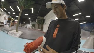 100 Kickflip Wear Test With Nick Tucker In The Diamond Nick Tucker Shoe