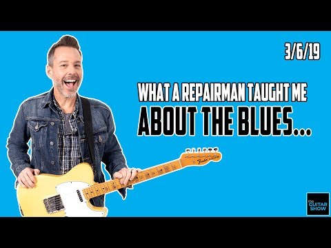 What a Repairman Taught Me About The Blues - LIVE