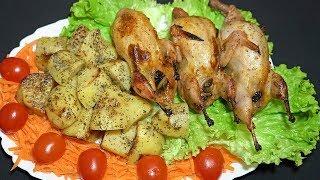 Фаршированные ПЕРЕПЕЛА В ДУХОВКЕ! Вкусное горячее блюдо на праздничный стол