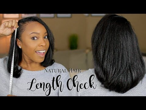 NATURAL HAIR LENGTH CHECK | 1 YEAR POST BIG CHOP UPDATE + HAIR GROWTH TIPS!!