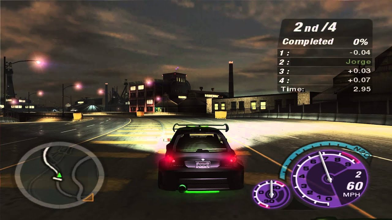 need for speed underground 2 intro gameplay hd 1080p. Black Bedroom Furniture Sets. Home Design Ideas