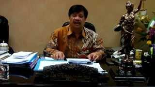 Adi Warman, SH, MH, MBA Ketua GN-PK Pusat Memberikan Keterangan Pers